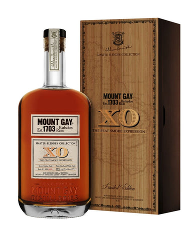 Mount Gay Master Blender Collection XO: The Peat Smoke Expression