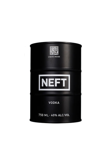 NEFT Vodka 750ml - Black