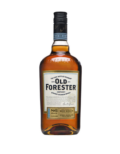Old Forester Classic 86 Proof Kentucky Straight Bourbon Whisky bottle