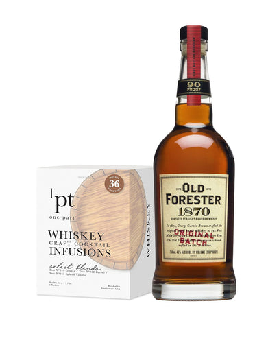 Old Forester 1870 Original Batch with 1pt Cocktail Pack - Whiskey