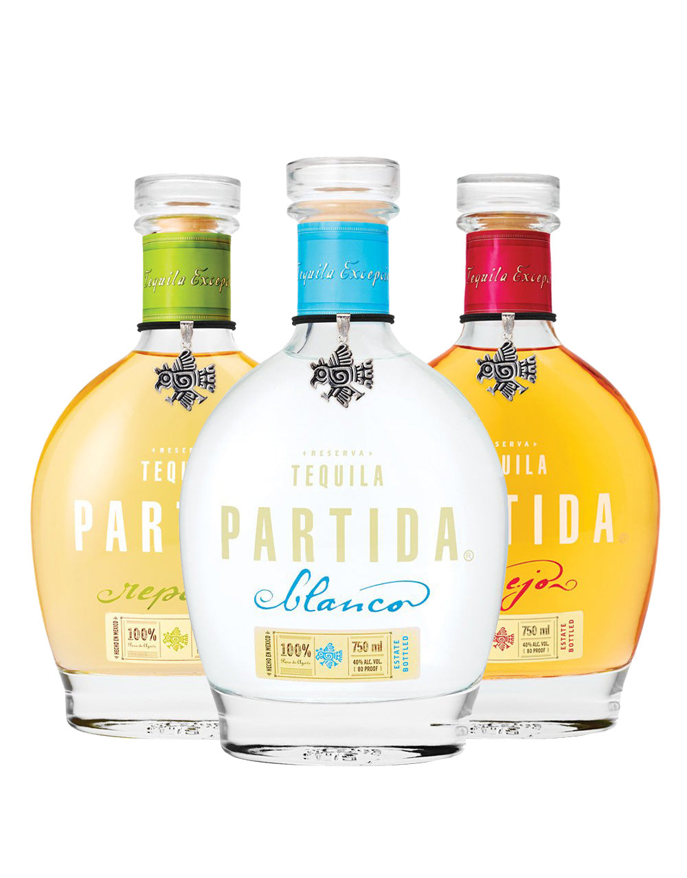 Tequila Partida 3 Bottle Collection | ReserveBar