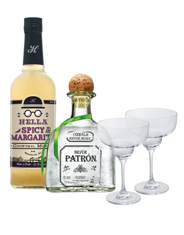 Patrón Spicy Margarita Gift Set