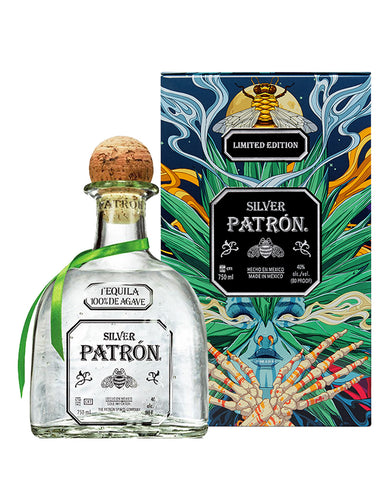 Patrón Silver Limited-Edition Mexican Heritage Tin 2020
