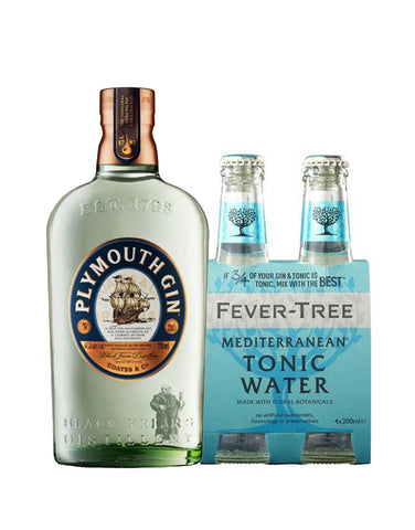 Plymouth Mediterranean Gin & Tonic Kit (4 Pack)