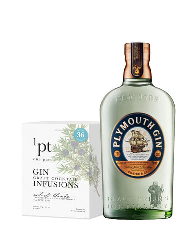 Plymouth Original Strength with 1pt Cocktail Pack - Gin