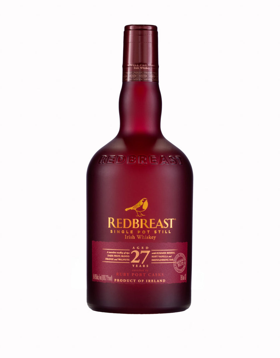 Load image into Gallery viewer, Redbreast 27-Year-Old Single Pot Still Irish Whiskey bottle