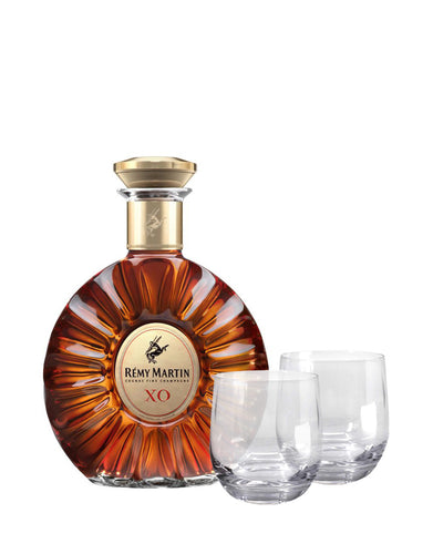 Rémy Martin XO with Dartington Wine & Bar Tumbler Glasses