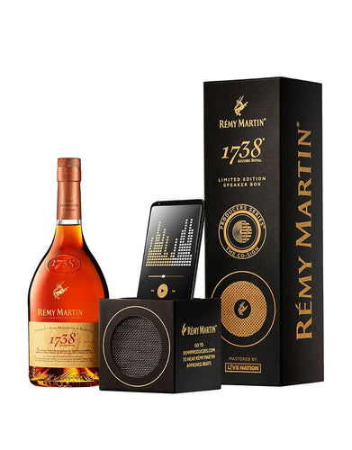 The Remy Martin 1738® Limited-Edition Speaker Box