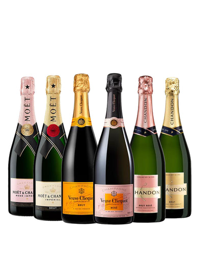 The Brut and Rosé Collection