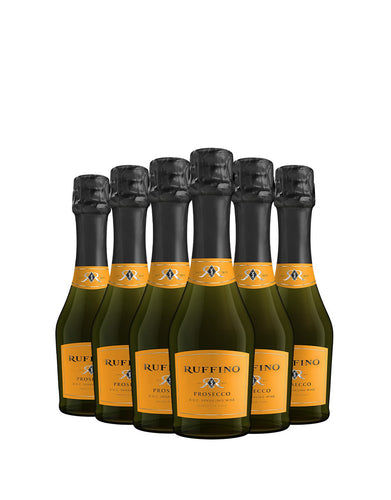 Ruffino Prosecco (187ml) - Pack of Six