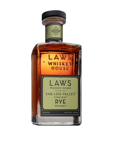 Laws San Luis Valley Straight Rye