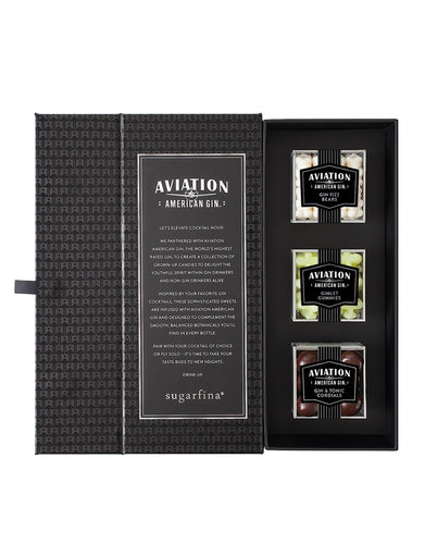 Sugarfina x Aviation Gin 3pc Candy Bento Box