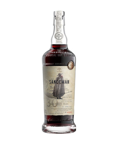 Sandeman 30 Years Old Aged Tawny Port Wine bottle