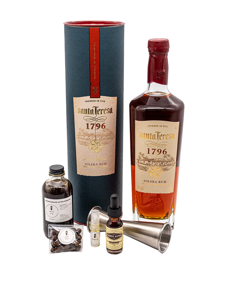 Load image into Gallery viewer, Santa Teresa 1796 La Trova Old Fashioned Cocktail Kit