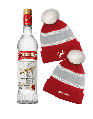 Stoli® Premium with Burton Hat