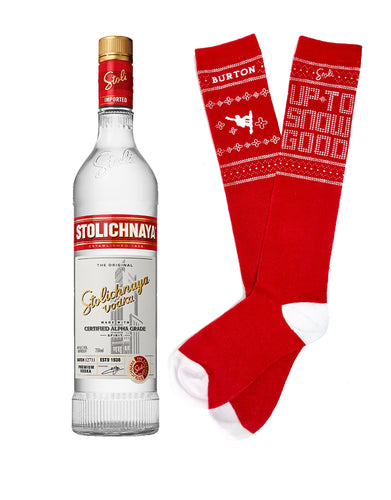 Stoli® Premium with Socks