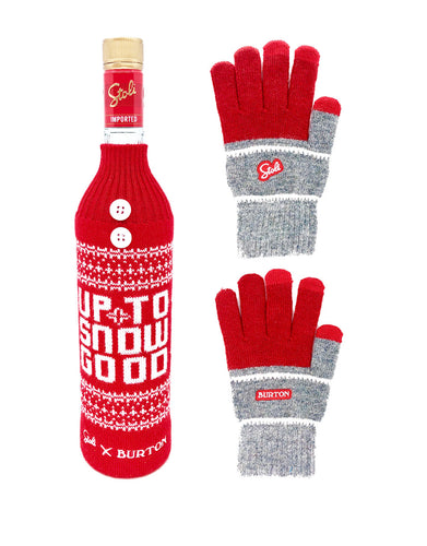 Stoli® Premium with Bottle Sweater and Gloves
