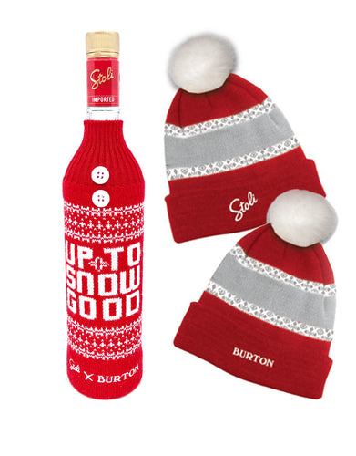 Stoli® Premium with Bottle Sweater and Hat