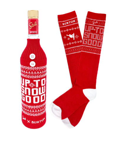 Stoli® Premium with Bottle Sweater and Socks