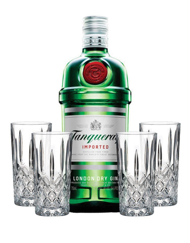 Tanqueray London Dry with Waterford Markham HiBall Set