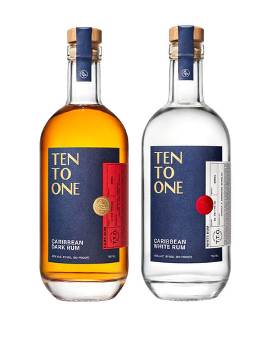 Ten To One Dark Rum & White Rum