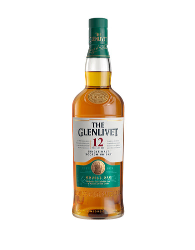 The Glenlivet 12 Years Old Single Malt Scotch Whisky bottle