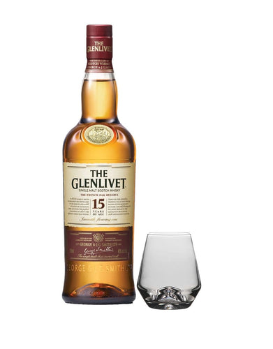 The Glenlivet 15 Year Old with Simon Pearce Bristol Tumbler