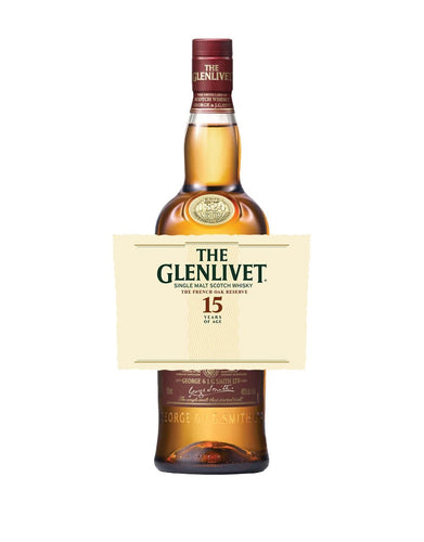 The Glenlivet 15YO with Custom Label