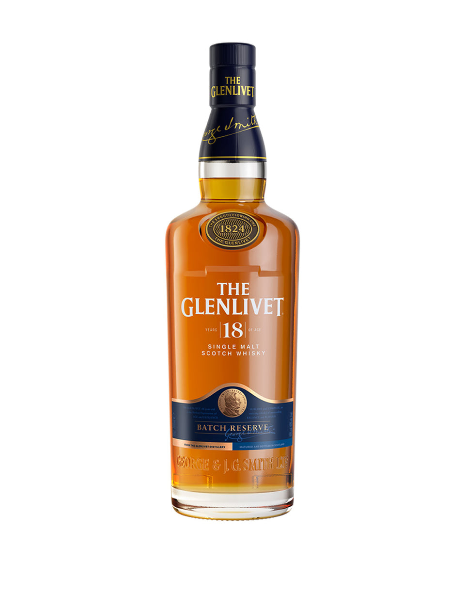 Load image into Gallery viewer, The Glenlivet 18 Year Old Single Malt Scotch Whisky bottle