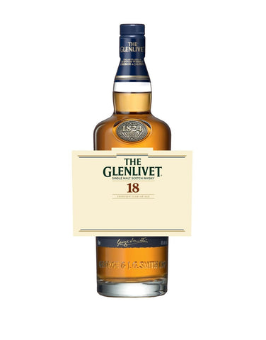 The Glenlivet 18YO with Custom Label