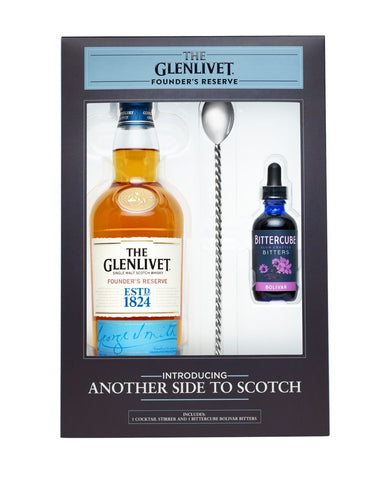 The Glenlivet Founder's Reserve With Bitters Set