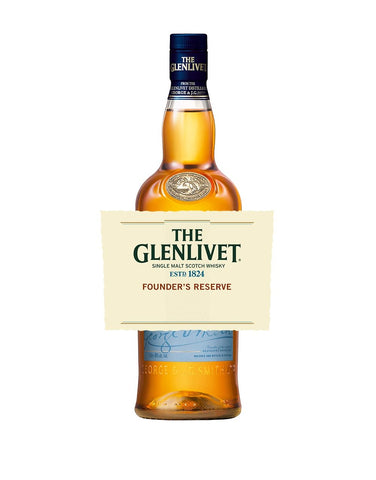 The Glenlivet Founder's Reserve with Custom Label