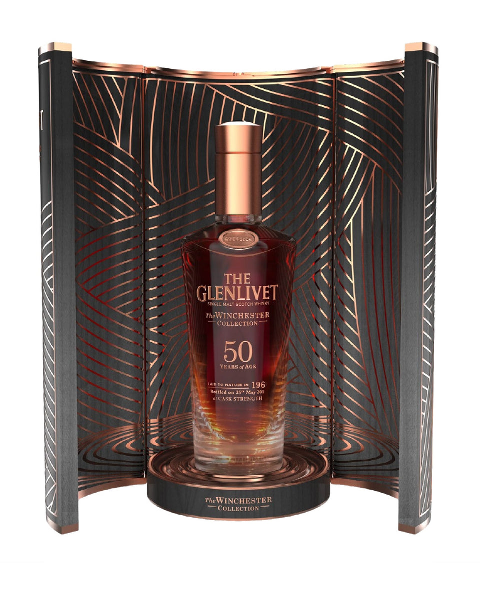 Load image into Gallery viewer, The Glenlivet Winchester Collection bottle in box