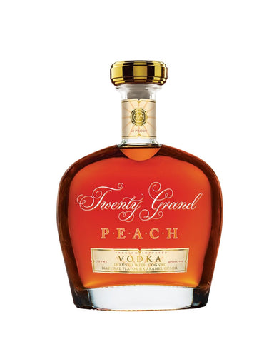 Twenty Grand PEACH VODKA Infused with Cognac