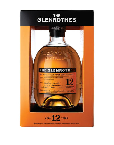 The Glenrothes 12 Years Old Single Malt Scotch Whisky bottle
