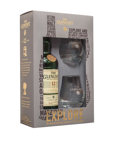 The Glenlivet 12 Year Old with Glass Set