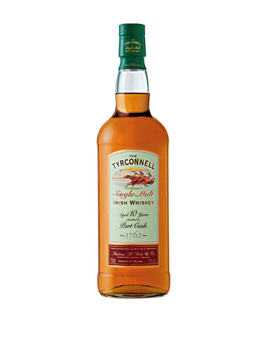 The Tyrconnell® 10 Year Single Malt Irish Whiskey, Port Cask Finish
