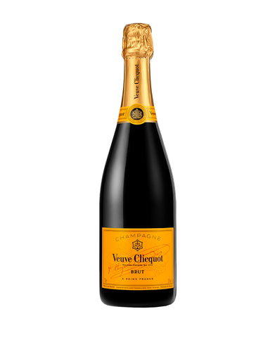 Veuve Clicquot Yellow Label Champagne bottle