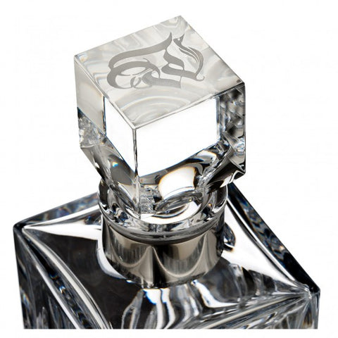 Waterford Lismore Evolution Decanter Square 25.3 Oz