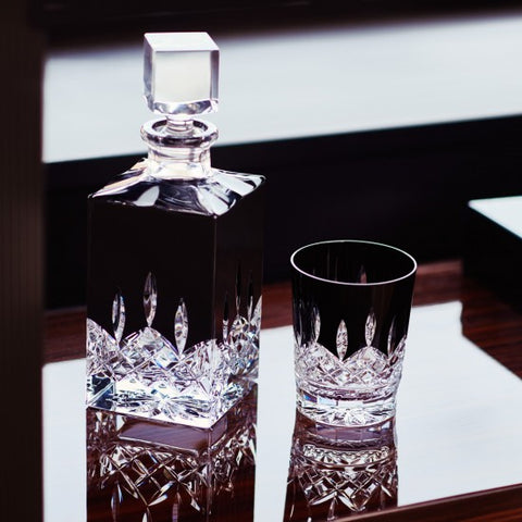 Waterford Lismore Black Decanter Square 26 Oz