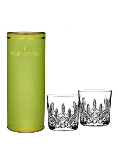 Waterford Giftology Lismore Tumbler 9 Oz Set (Lime Tube)