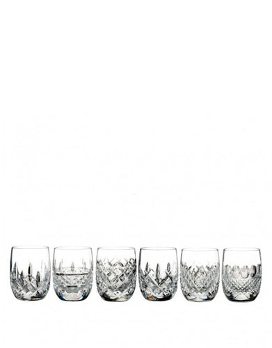Waterford Lismore Connoisseur Heritage Tumbler Rounded 6.4 Oz Set