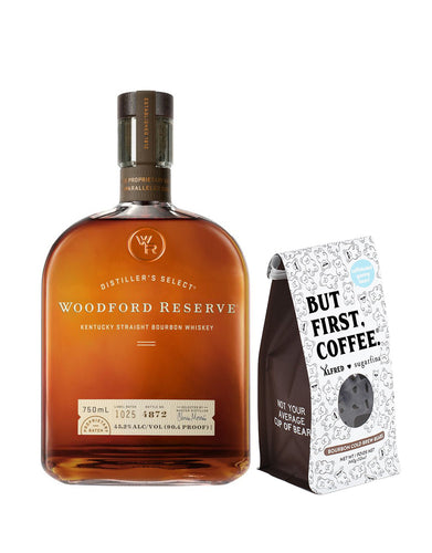 Woodford Reserve® Bourbon with Sugarfina Bourbon Cold Brew Bears