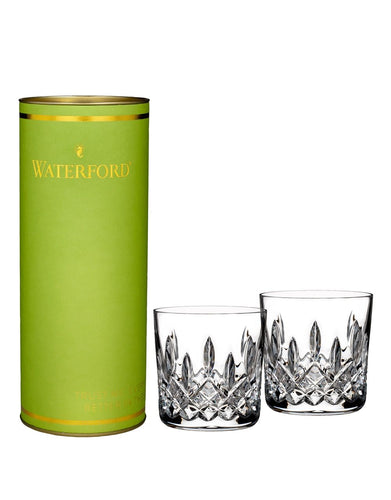 Waterford Giftology Lismore Tumbler Set with Lime Tube 9oz