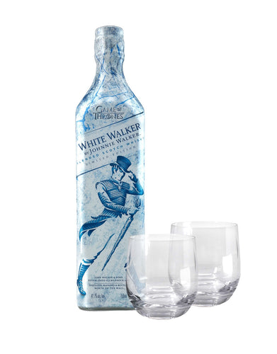 White Walker by Johnnie Walker with Dartington Wine & Bar Tumbler Glasses