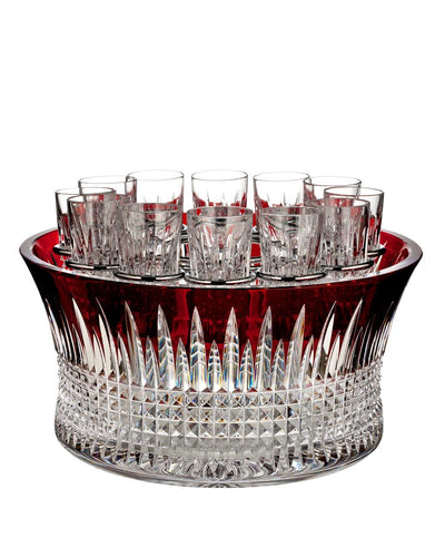 Waterford Lismore Diamond Red Vodka Chiller