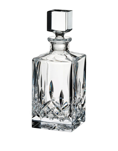 Waterford Lismore Square Decanter 25oz