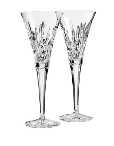 Waterford Lismore Toasting Flute Pair