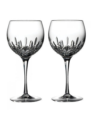 Waterford Lismore Essence Balloon Wine Pair