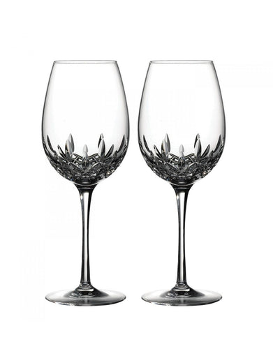 Waterford Lismore Essence Goblet Pair